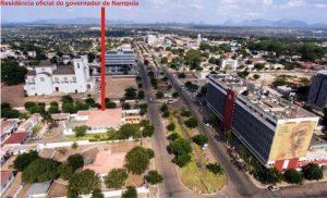 Resiência do governador de Nampula, localizada na avenida Eduardo Mondlane na cidade de Nampula pertença a igreja católica