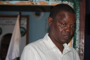 Vasco Napaua, delegado do MDM em Nampula