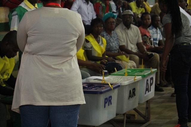 No fim da votação em Nampula o ambiente ficou agitado