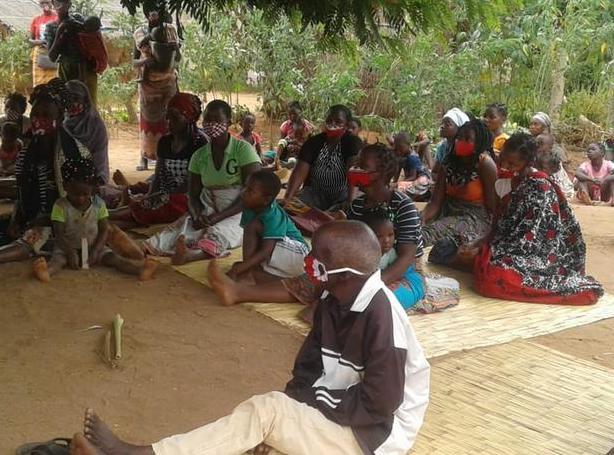 deslocados passam fome em Nangade