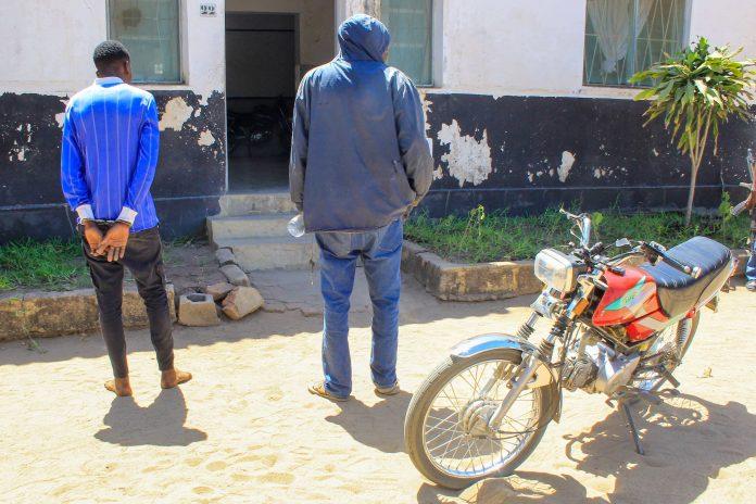 homem águia detido em Nampula